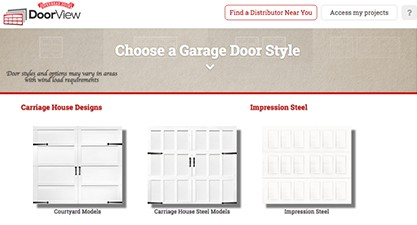 screenshot of Design-a-Door software